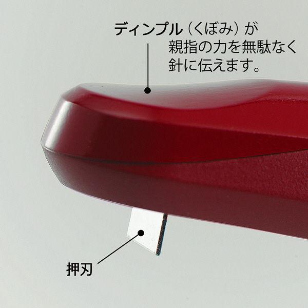 プラス ホッチキス ラクヒット針付 RD ST-010RH  1セット(2個) (直送品)