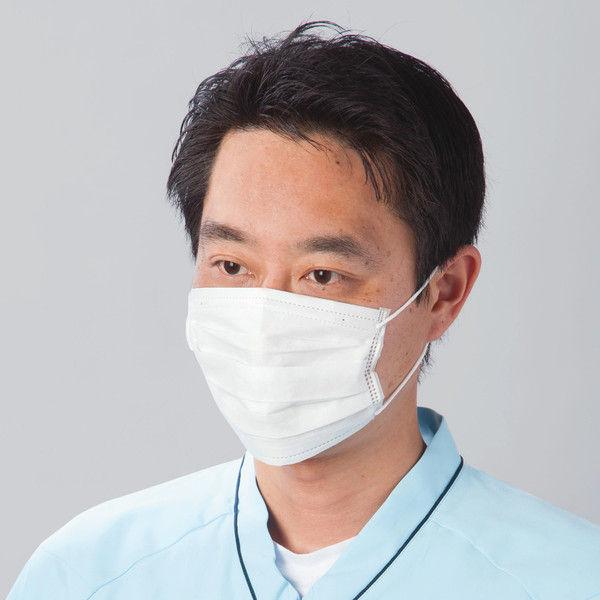 スズラン しっかりフィットサージカルマスク ふつう 13247153 1箱(50枚入)