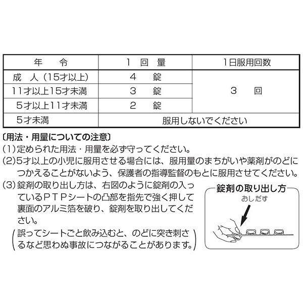 セイロガン糖衣A 48錠 PTPシート 大幸薬品【第2類医薬品】