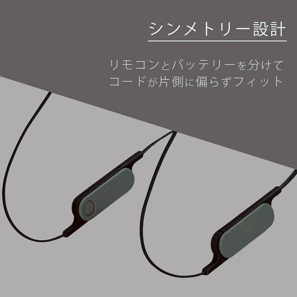 エレコム Bluetoothイヤホン/FASTMUSIC/bund/HPC14/スマホ/スモークブラック LBT-HPC14MPBK 1個(直送品)