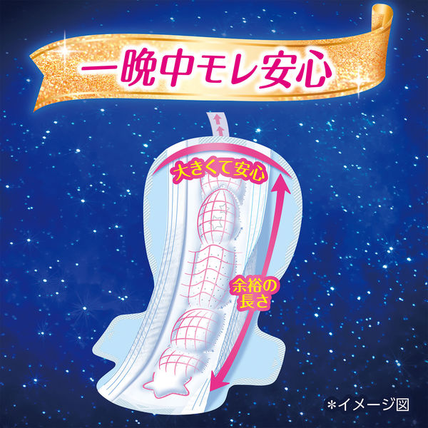 ソフィ超熟睡ガード360 12枚入