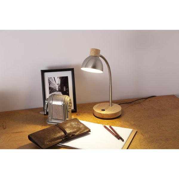 オリンピア照明 LEDテーブルランプ白木
