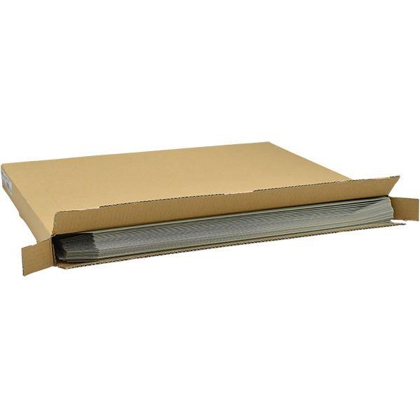キングコーポレーション 大型封筒 120g グレー 014001 50枚入×2箱(直送品)