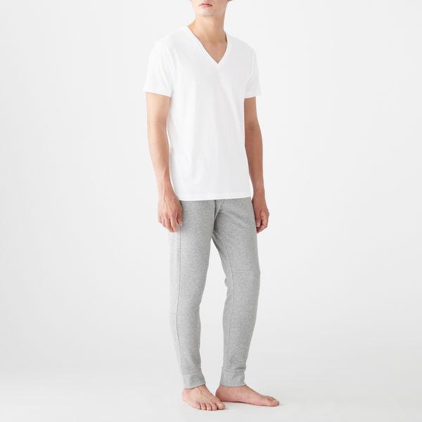 無印 天竺編み半袖Tシャツ 2枚 紳士M