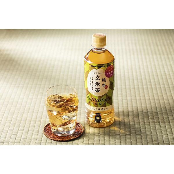 熊本 おいしい玄米茶 525ml 6本