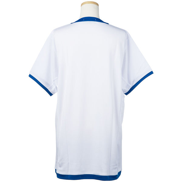 テニスゲームシャツ ホワイト LL