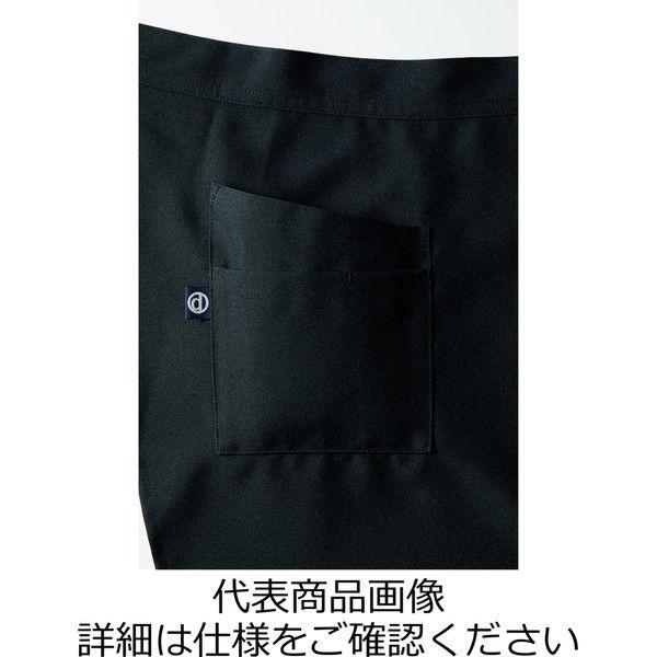 チトセ エプロン DN8507_C10ブラック杉綾_(取寄品)
