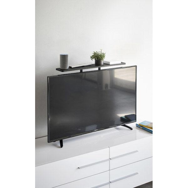 薄型テレビ上ラックスマート ブラック