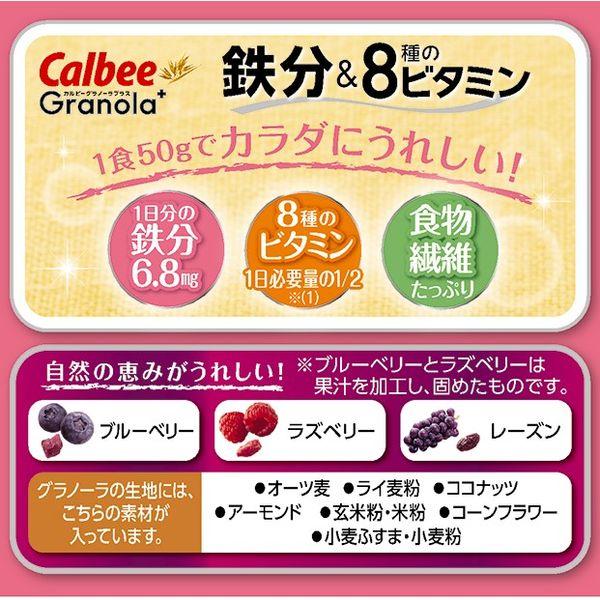 グラノーラプラス鉄分&8種のビタミン1袋