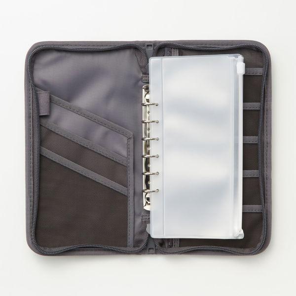 ポリエステルパスポートケース・ポケット付