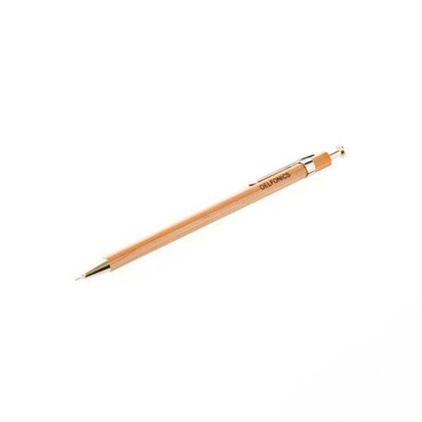木軸ボールペン 0.7mm レッド軸