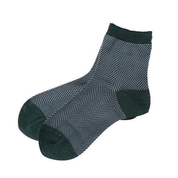 ヘリンボンソックス 婦人靴下 4色セット