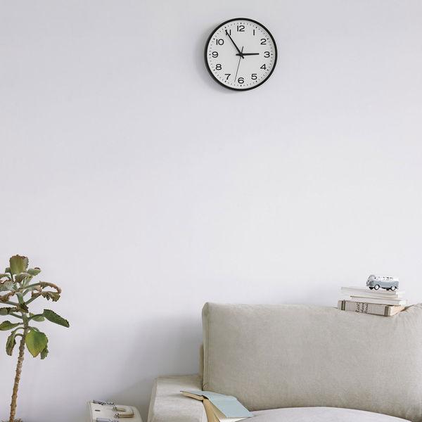 ... アナログ時計・大 掛時計・ブラック ...