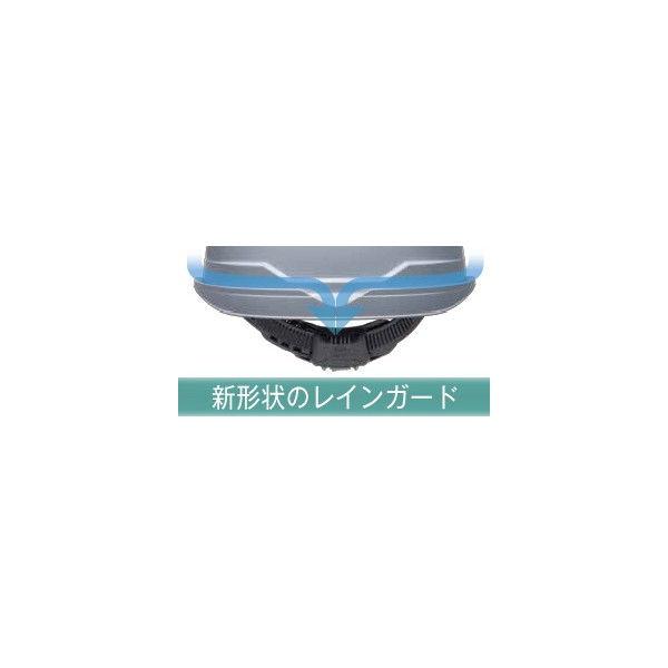ミドリ安全 ヘルメット キャップ型 クリアバイザー SC-19PCL RA3 α 帽体:ホワイト/バイザー:パープル 4001190020 1個(直送品)
