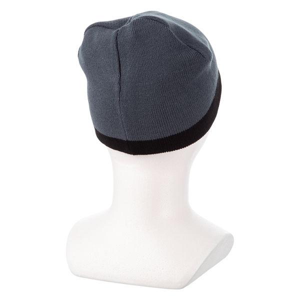 リバーシブル帽子ブラック
