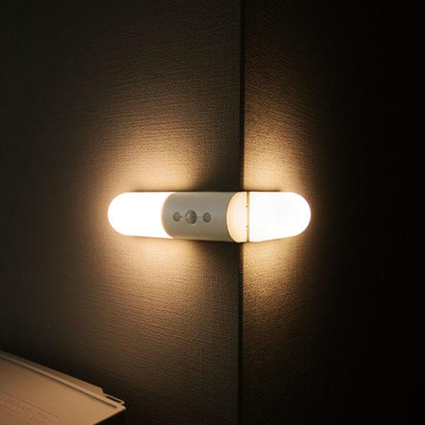 LEDセンサー付ライト 人感センサー