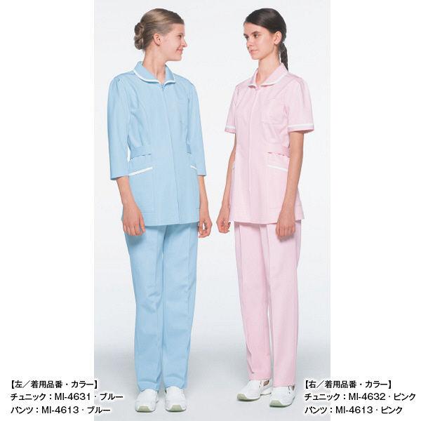 ナガイレーベン レディスパンツ ピンク L MI4613 1枚 (取寄品)