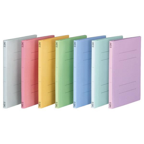 フラットファイル A4縦 青 100冊