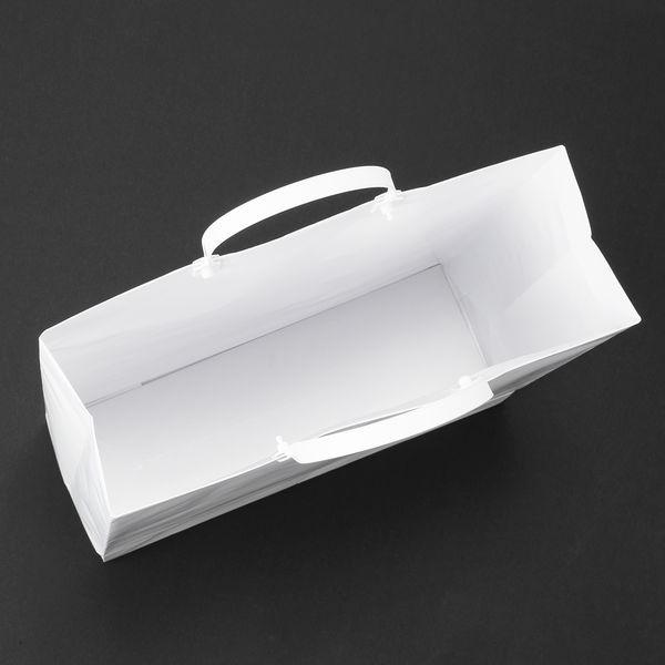 平紐 手提げ紙袋 白 L 180枚