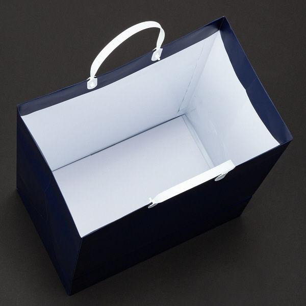 平紐 手提げ紙袋 紺 90枚