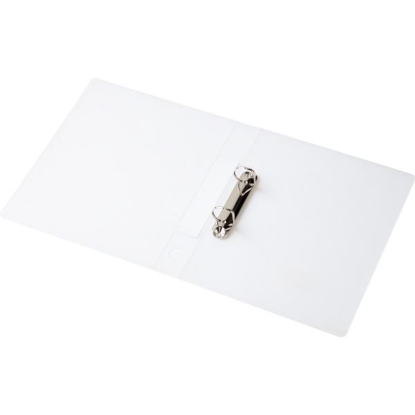 D型リングファイル A4縦 白 40冊