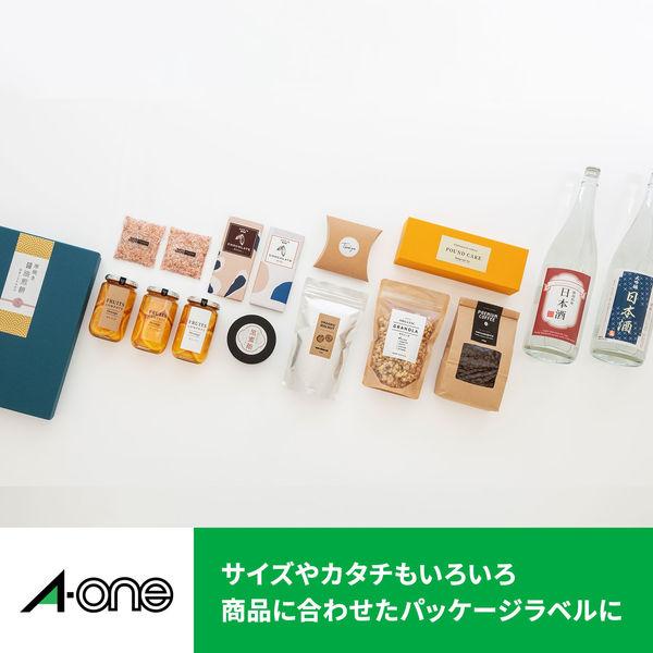 エーワン PPCラベルシール 表示・宛名ラベル コピー用 マット紙 白 A4 12面 1袋(100シート入) 28276(取寄品)