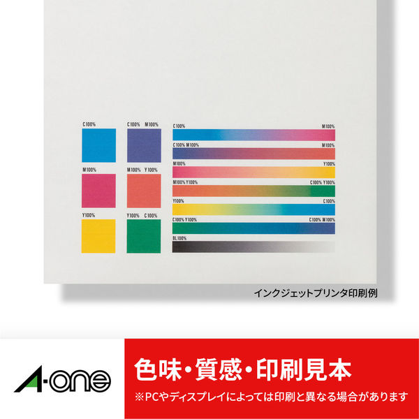 エーワン ラベルシール 表示・宛名ラベル プリンタ兼用 マット紙 白 A3 ノーカット1面 1袋(100シート入) 28424(取寄品)