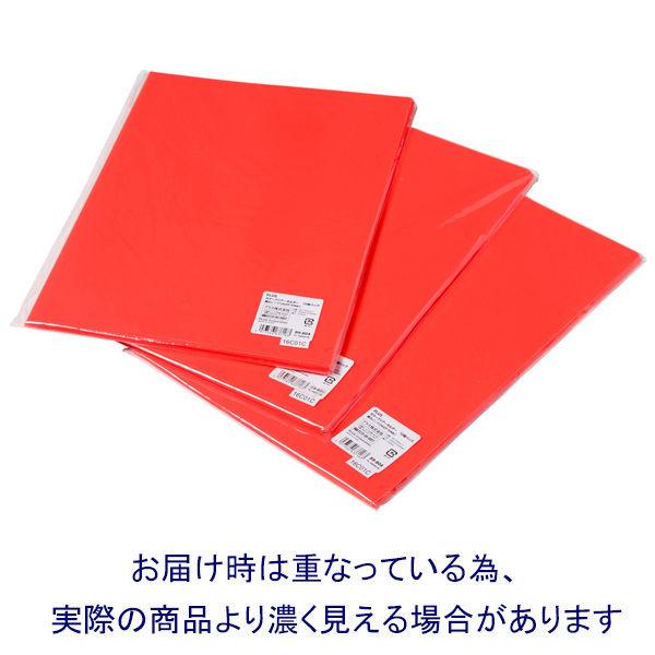 プラス カラークリアホルダー A4 1セット(30枚) 濃色ピンク
