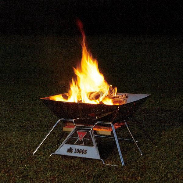ロゴス 焚火ピラミッドグリル