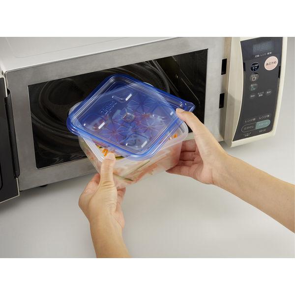 ジップロックコンテナー正方形1100ml