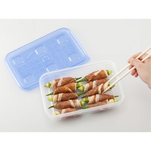 ジップロックコンテナー長方形1100ml