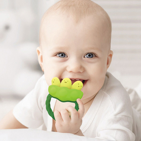 歯固め カミカミベビー枝豆 3カ月~1個