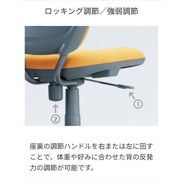 オカムラ VC1ビラージュチェア肘無