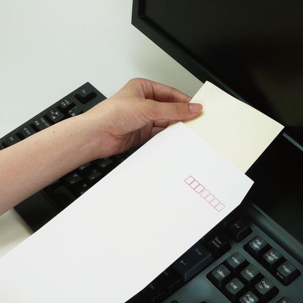 ケント紙封筒 長3テープ付 100枚