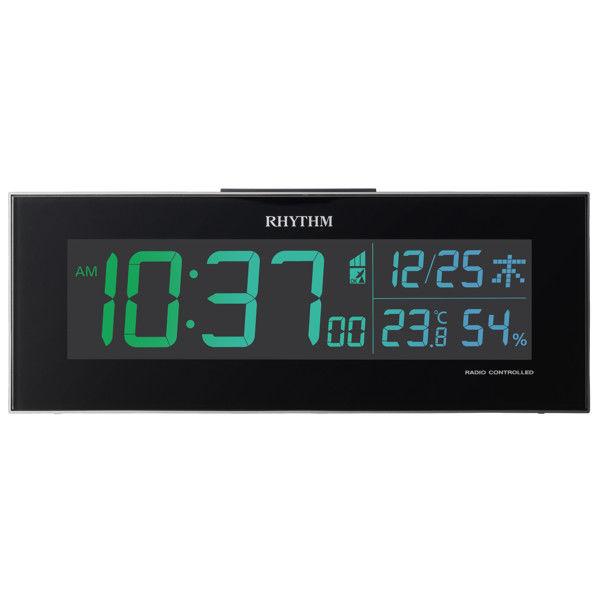 デジタル電波掛け置き兼用時計 イロリア
