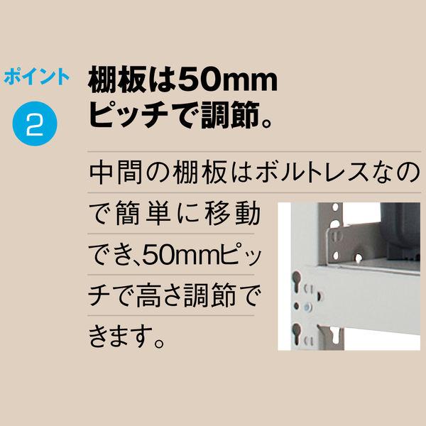 サンケイ鋼器 500kg 天地4段 高さ1800×幅1855×奥行930 連結 1台(8梱包)