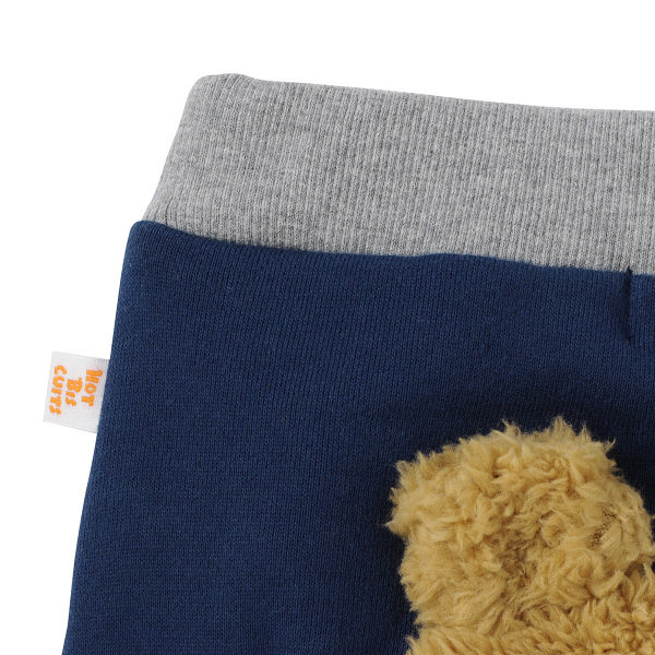 ベビーパンツ  紺×白  90cm