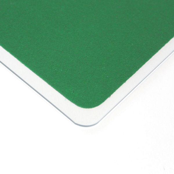 プラス デスクマット クリアータイプ 特大(1590×690mm) 厚さ1.8mm 下敷き付