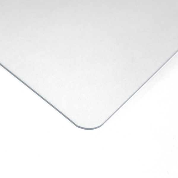 プラス デスクマット クリアータイプ 特大(1590×690mm) 厚さ1.8mm 下敷きなし