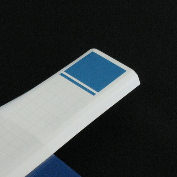 ハピラ 差し替え式クリアーファイル (大量収納タイプ) 背幅54mm 1冊