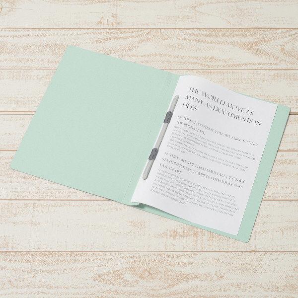 プラス フラットファイル A4タテ 7色アソート No.021N 12冊