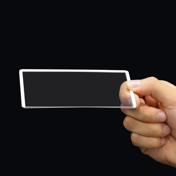 プラス カードケース ハードタイプ(再生PET仕様) A7 76×109 34467 業務用パック 1箱(20枚入)