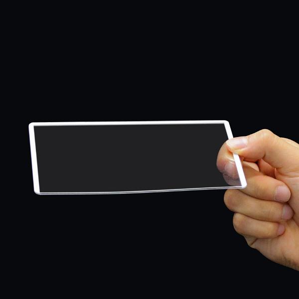 プラス カードケース ハードタイプ(再生PET仕様) B7 93×134 34474 業務用パック 1箱(20枚入)