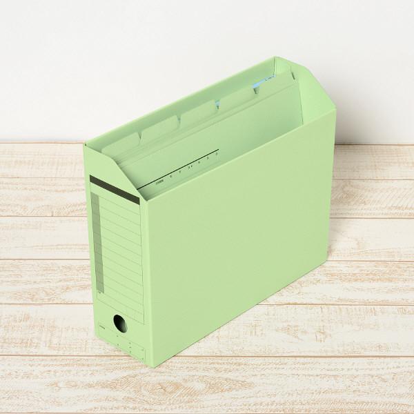プラス カットフォルダー マチなし 5山 グリーン FL-065IF 87386 1セット(50枚:5枚入×10袋)