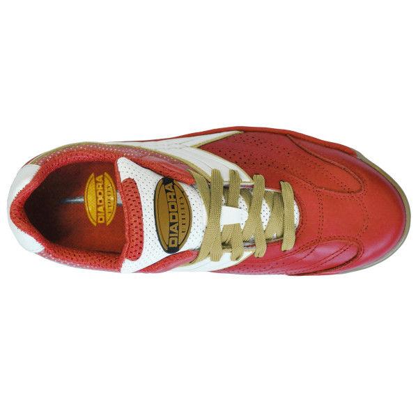 ドンケル R209014807 ディアドラ安全作業靴 ピーコック PCー31赤&ホワイト 24.0cm 1足 (直送品)