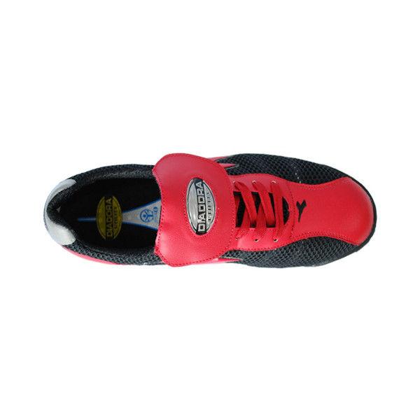 ドンケル R209012314 ディアドラ安全作業靴 キングフィッシャーKFー32 赤&ブラック 27.5cm 1足 (直送品)