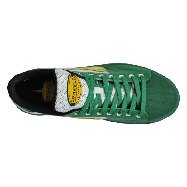 ドンケル R209014508 ディアドラ安全作業靴 キーウィ KWー651緑&イエロー&ホワイト 24.5cm 1足 (直送品)