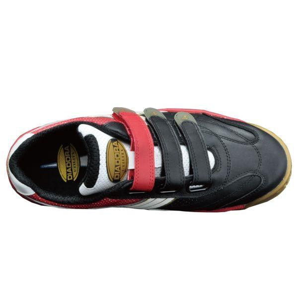 ドンケル R209016207 ディアドラ安全作業靴 ロビン RBー213黒&ホワイト&レッド 24.0cm 1足 (直送品)