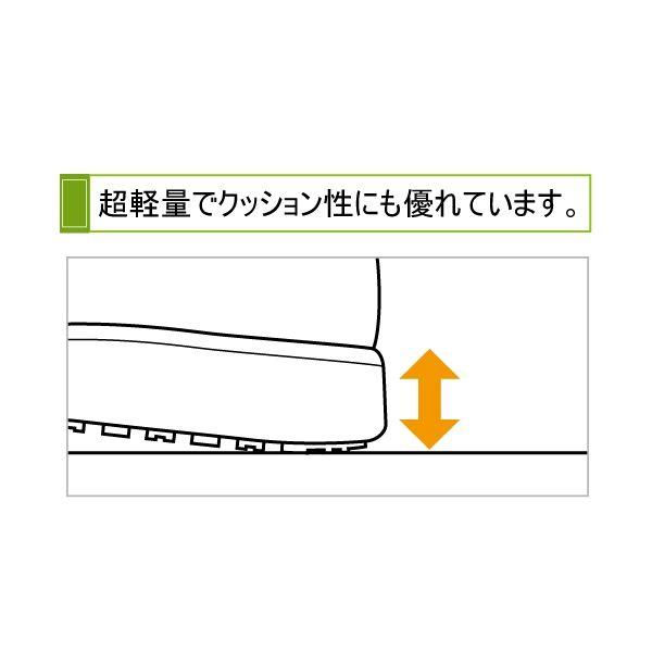 ミドリ安全 2125070202 超耐滑軽量作業靴ハイグリップ Hー700N 黒21.5cm 1足 (直送品)