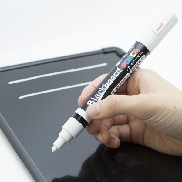 三菱鉛筆(uni) ブラックボードポスカ 白 PCE2005M1P.1 1本